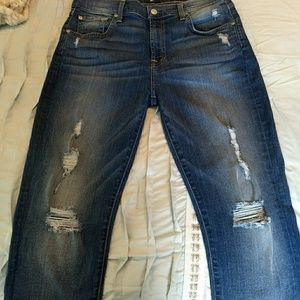 Seven For All Mankind Distressed Jeans